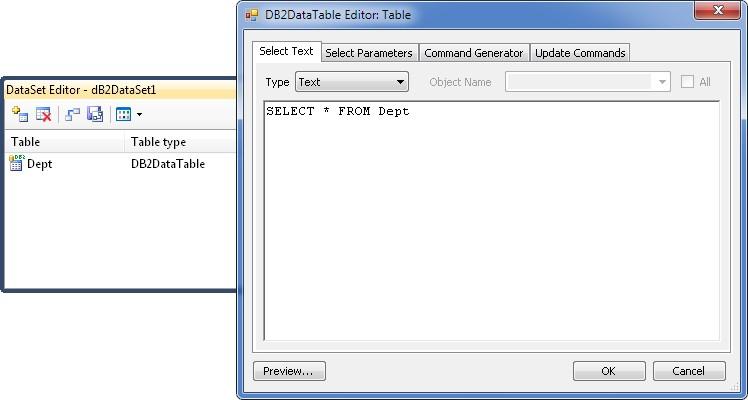 Using DataSet Editor