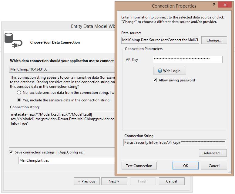 MailChimp ADO.NET Data Provider