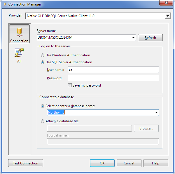 Loading Data from Oracle