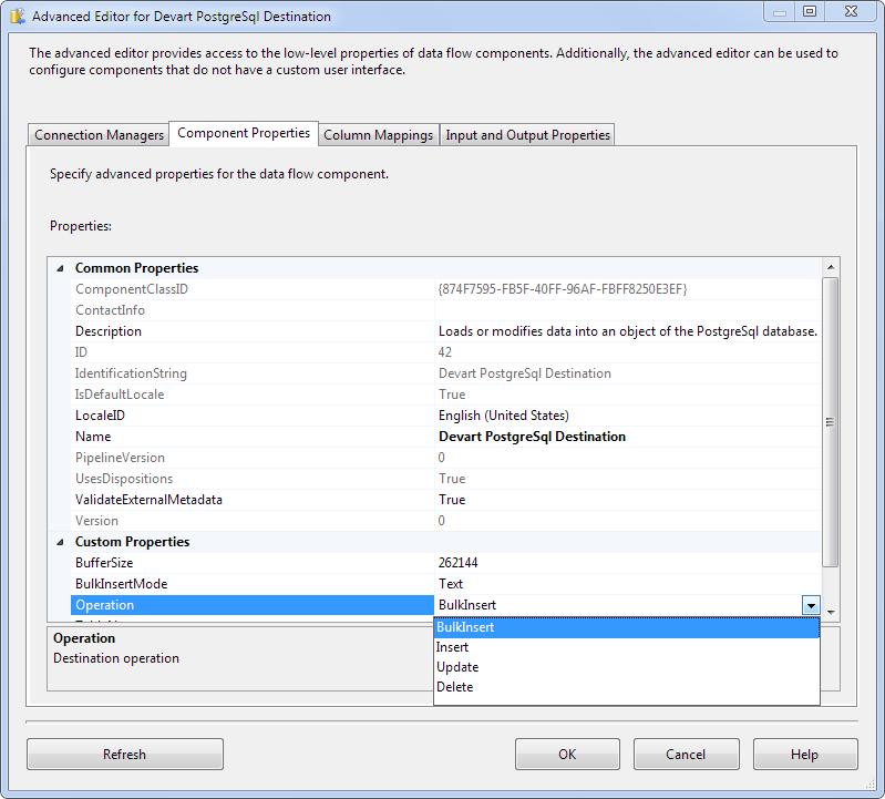 Loading Data to PostgreSQL