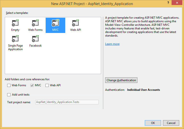 Using ADO NET Implementation of ASP NET Identity 1 for SQLite