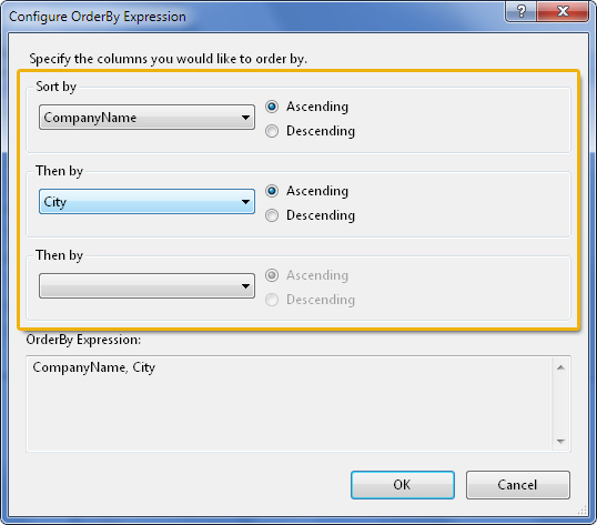 Using DbLinqDataSource Component