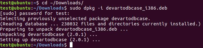 Linux DEB Package