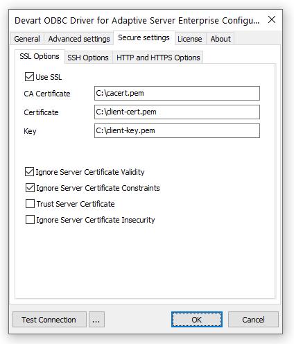 SSL Connection Description