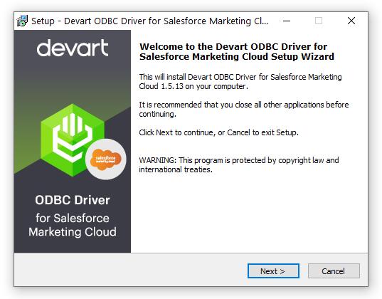 Windows 7 Salesforce Marketing Cloud (ExactTarget) ODBC Driver (32/64 bit) 1.5 full