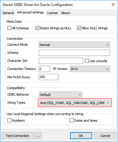 Connecting DBeaver to Oracle via ODBC Driver