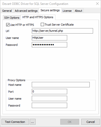 HTTP Tunneling Description