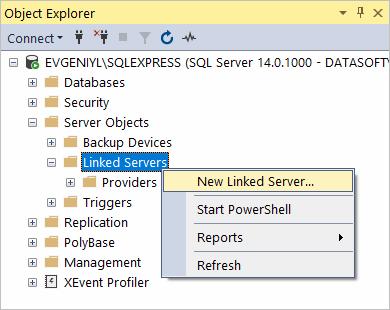 Using in SQL Server Management Studio - ODBC Driver for SugarCRM