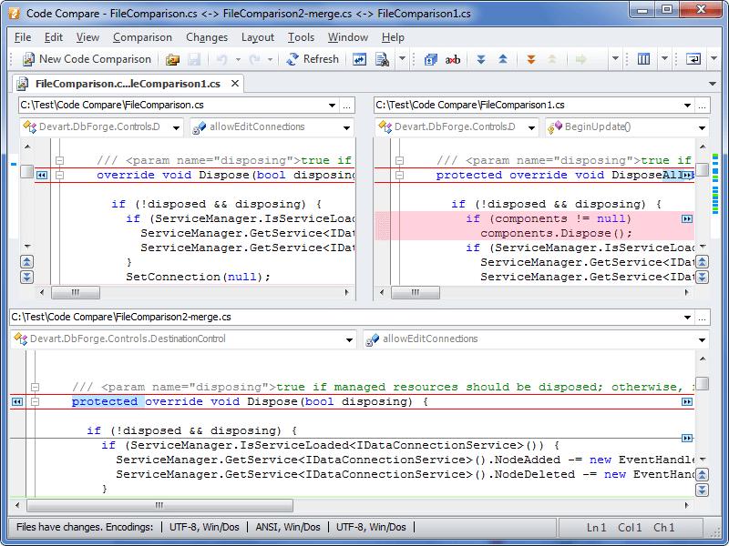 Side-by-Side Comparison Tool - XYplorer Beta Club