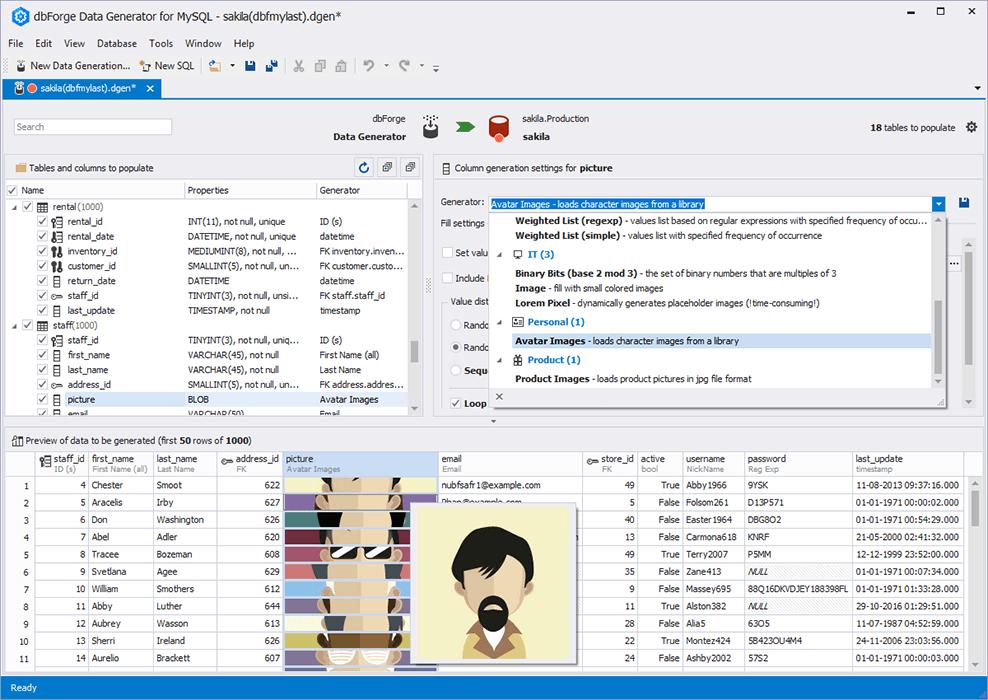 MySQL Data Generator for Realistic Test Data Creation