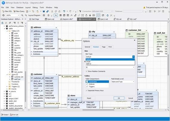 Database Designer | Visual Database Designer For Mysql