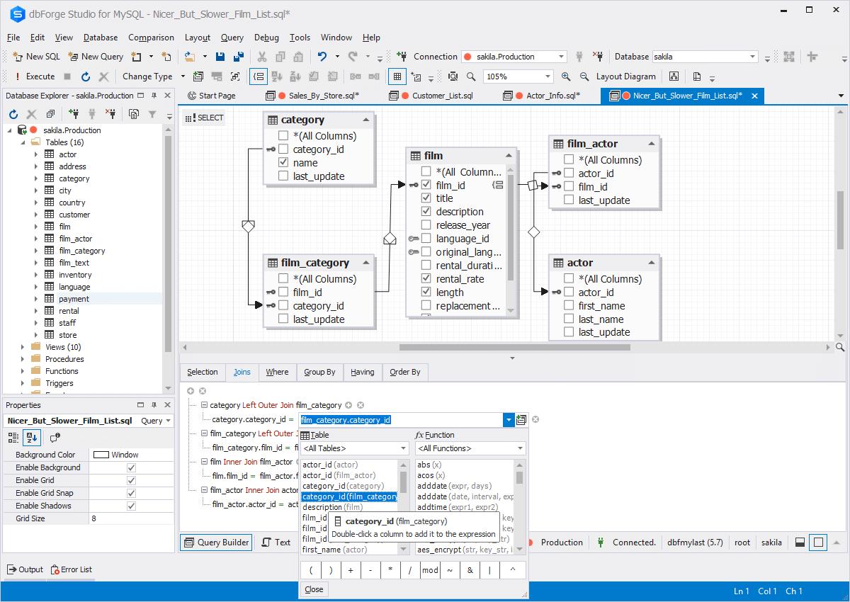 Learn mysql query