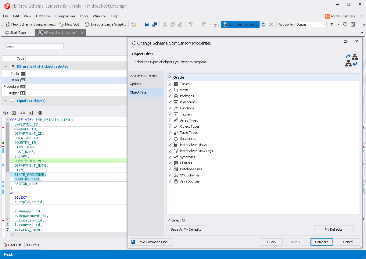 Windows 7 dbForge Compare Bundle for Oracle 4.3 full