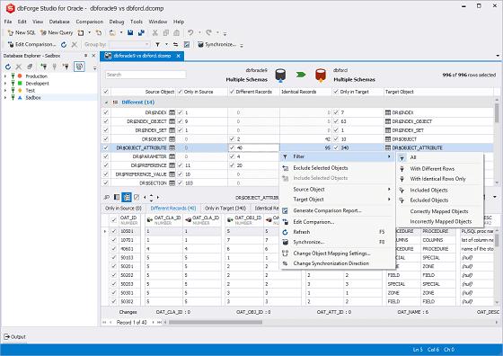 Visual Studio Query Designer Like Filter
