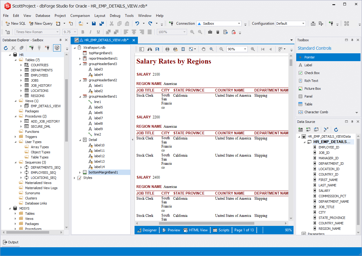 Oracle Report Builder   How to Create Oracle Data Reports?