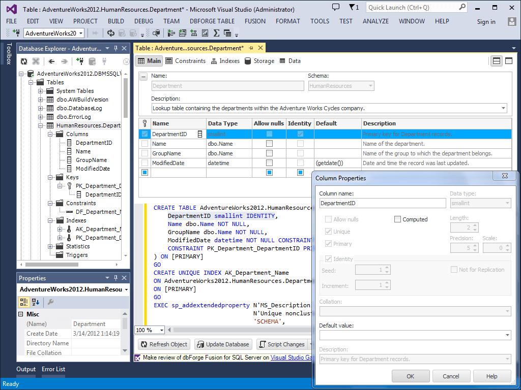 Flat Table Editor