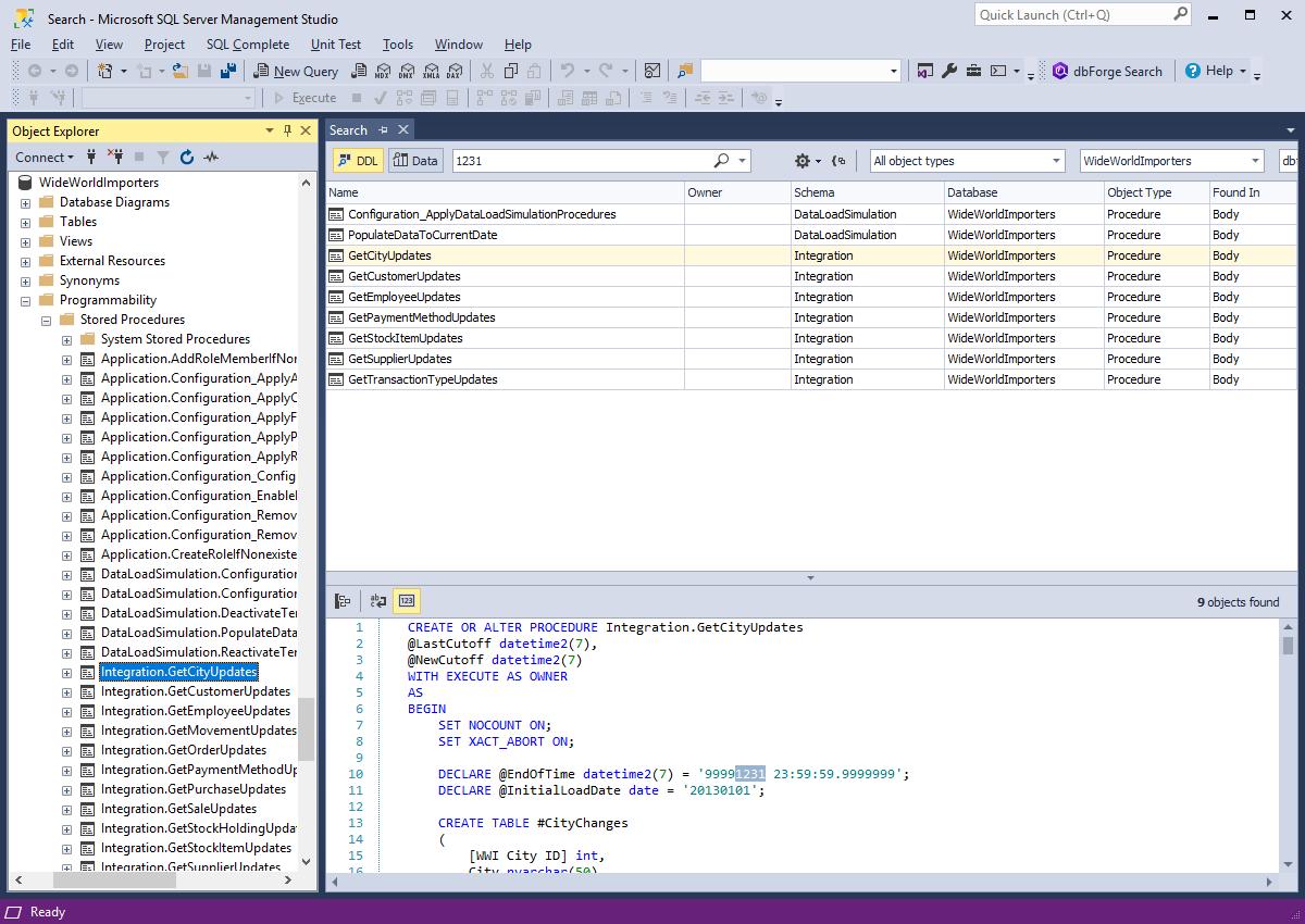 dbForge Search for SQL Server 2.5.42 full