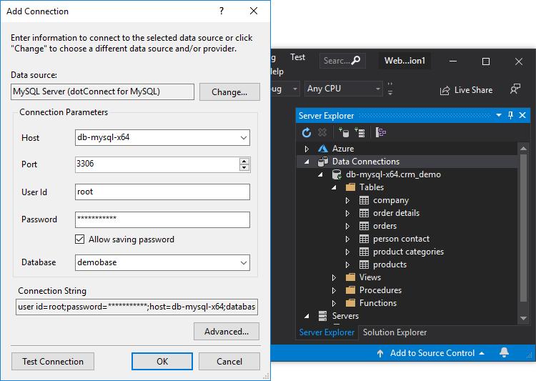 dotConnect for MySQL full screenshot