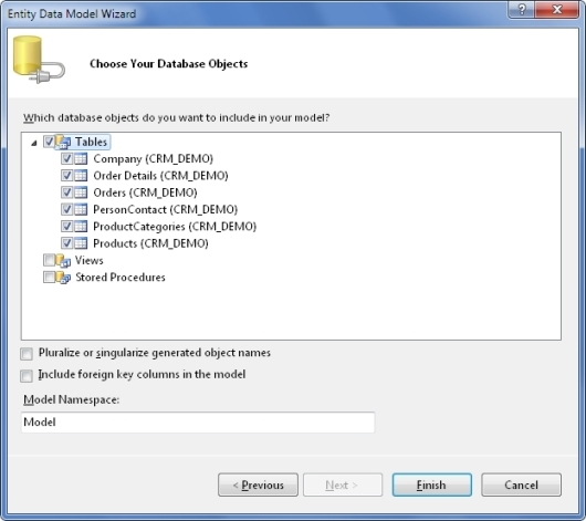 dotConnect for Oracle Entity Framework Tutorial