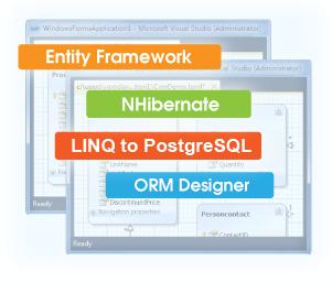 ADO NET Provider for PostgreSQL with Entity Framework Support