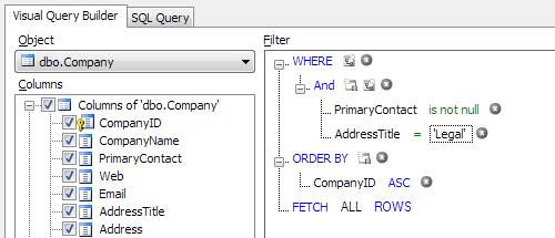 Validating email addresses sql database