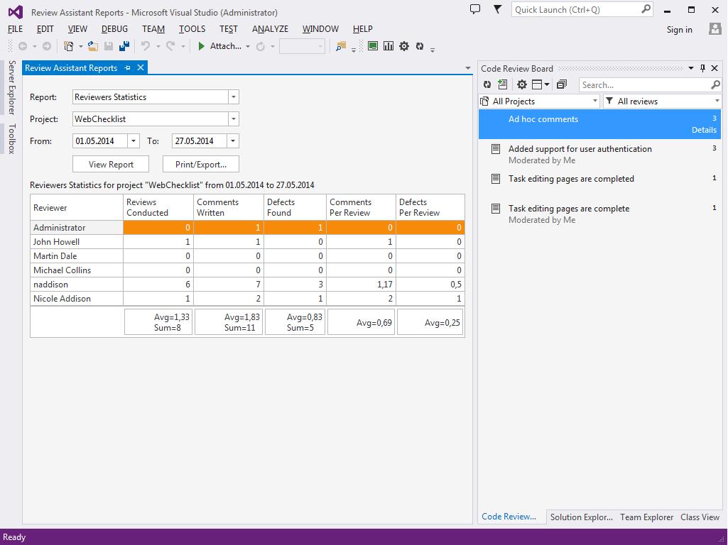 Readyset Pro Product Evaluation