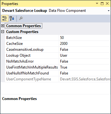 Salesforce SSIS Data Flow Components - Devart